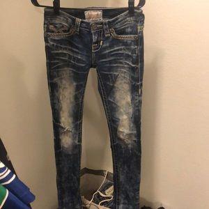 Distressed Big Star Jeans